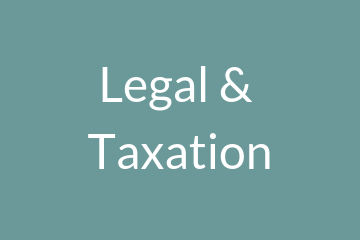 Find out about legal and taxation issues related to cooperatives