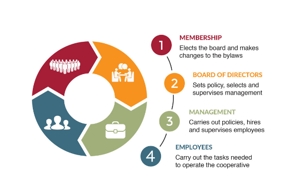 Graphic of cooperative governance