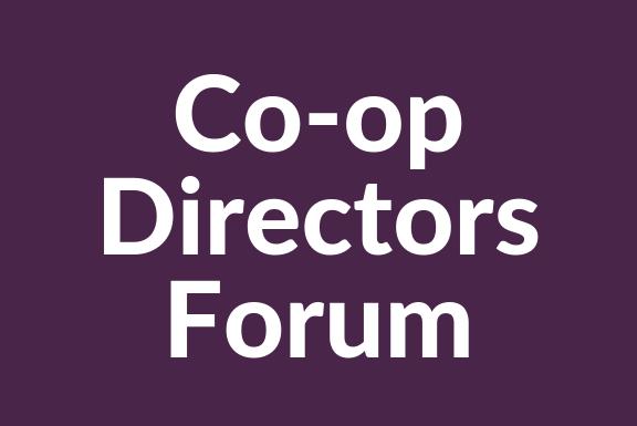 Co-op Directors Forum