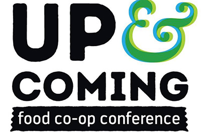 Up and Coming Food Co-op Conference logo
