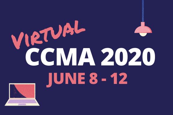 Virtual CCMA 2020 dates June 8 - 12