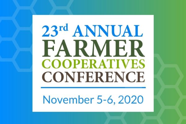 Farmer cooperatives Conference dates