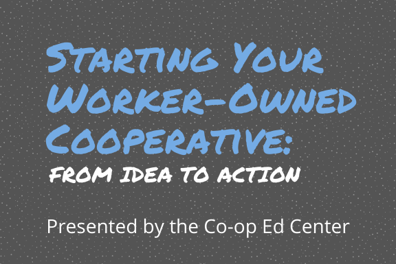 starting your own worker cooperative